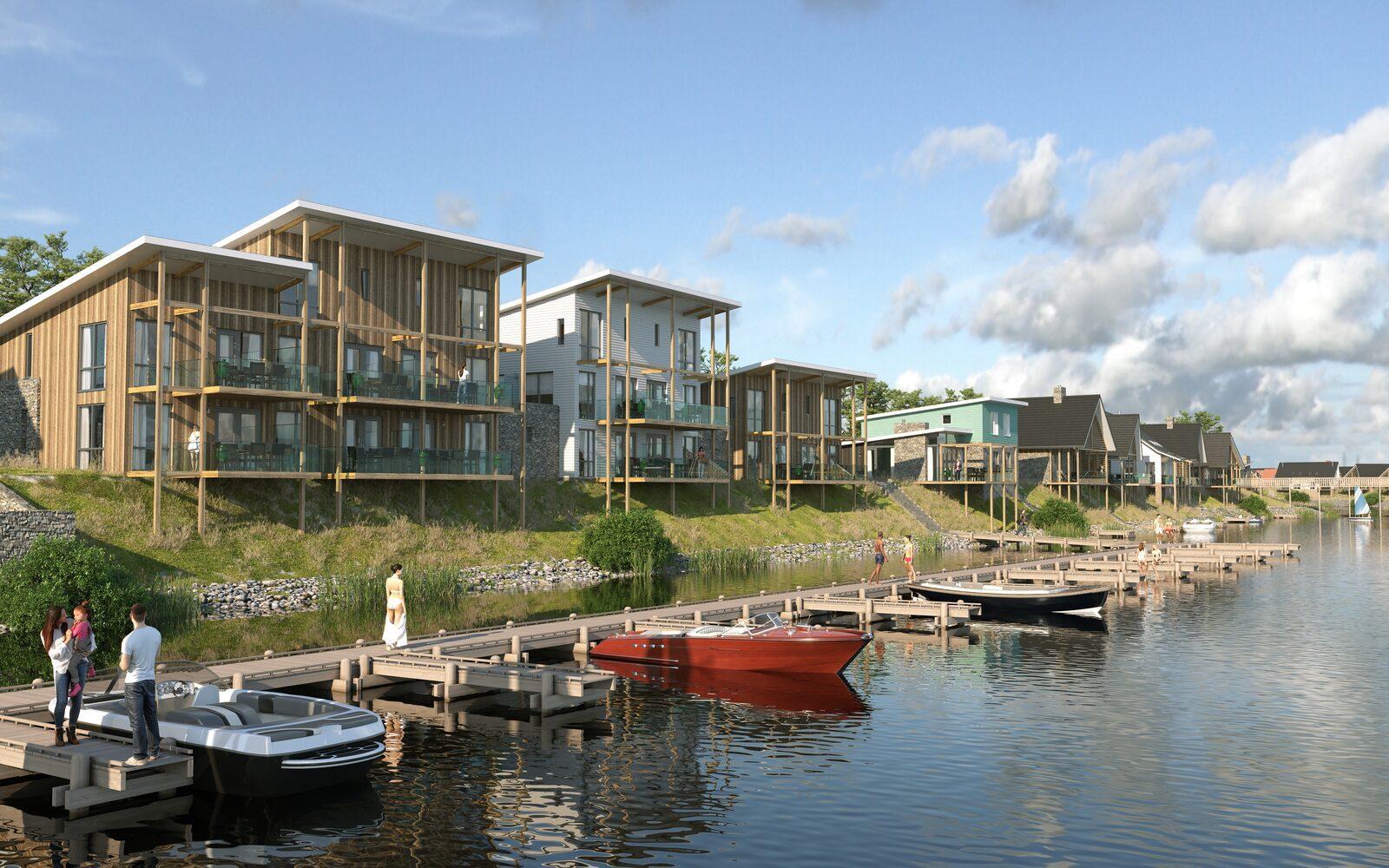 Investeren in een vakantiewoning bij Marina Resort Leukermeer