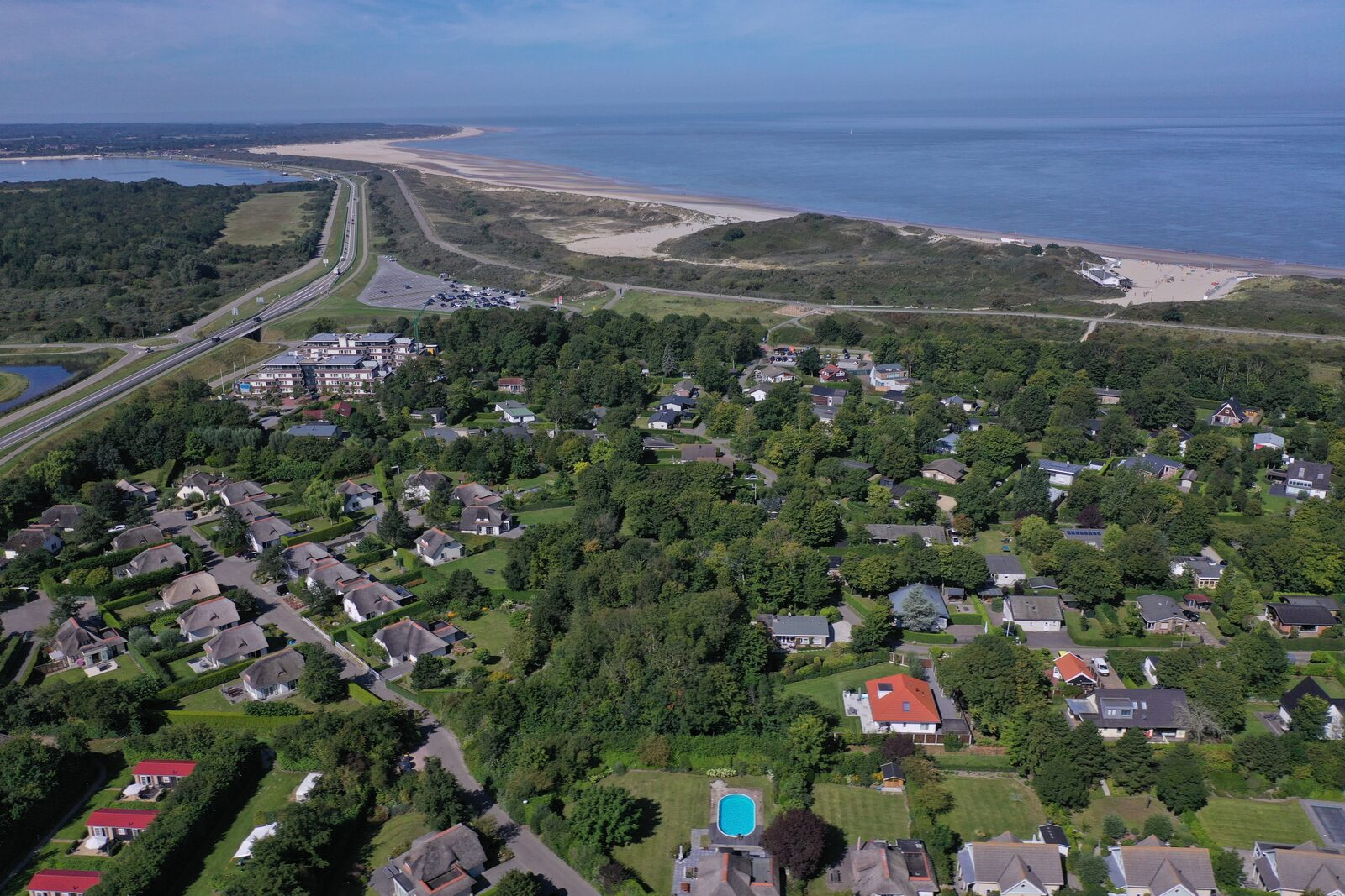 Holiday homes de Banjaard in Zeeland