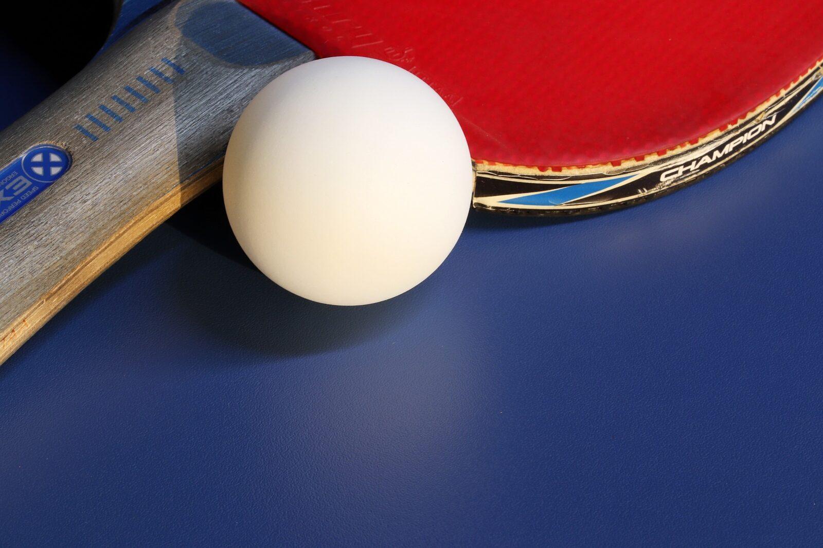 Les tables de ping-pong