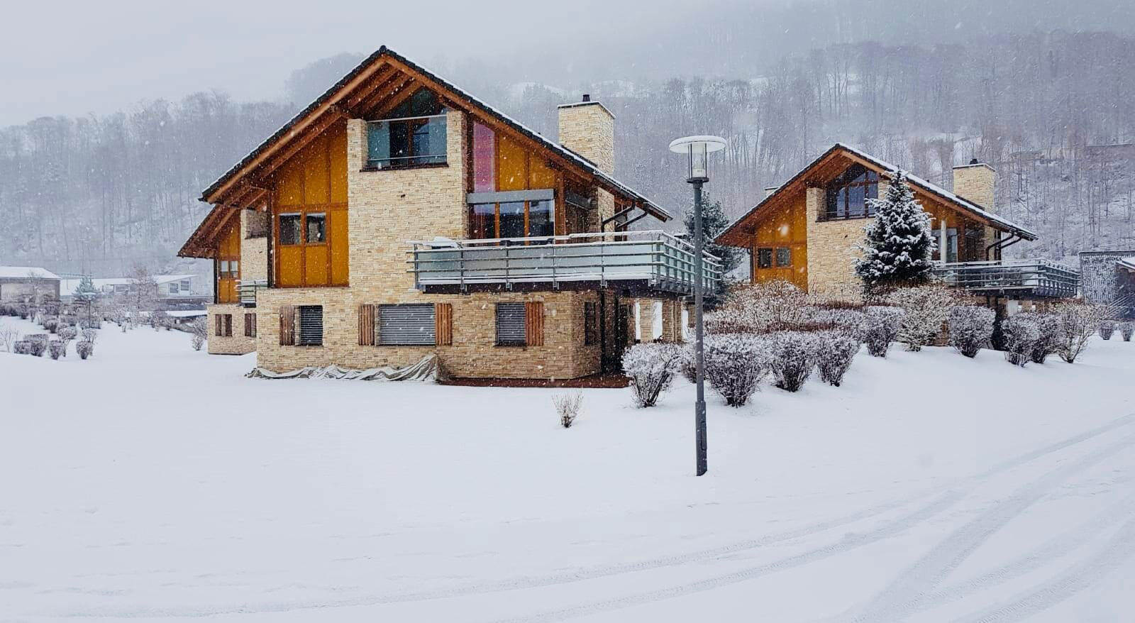 Resort Walensee in total white, will make your holidays extra fun!