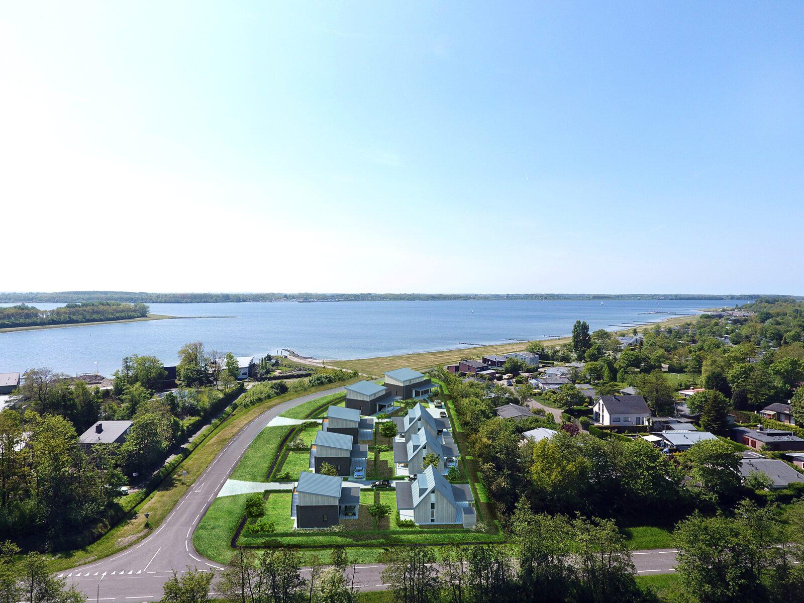 Nieuwe villa aan het Veerse Meer