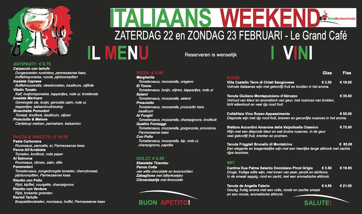 Italian Weekend