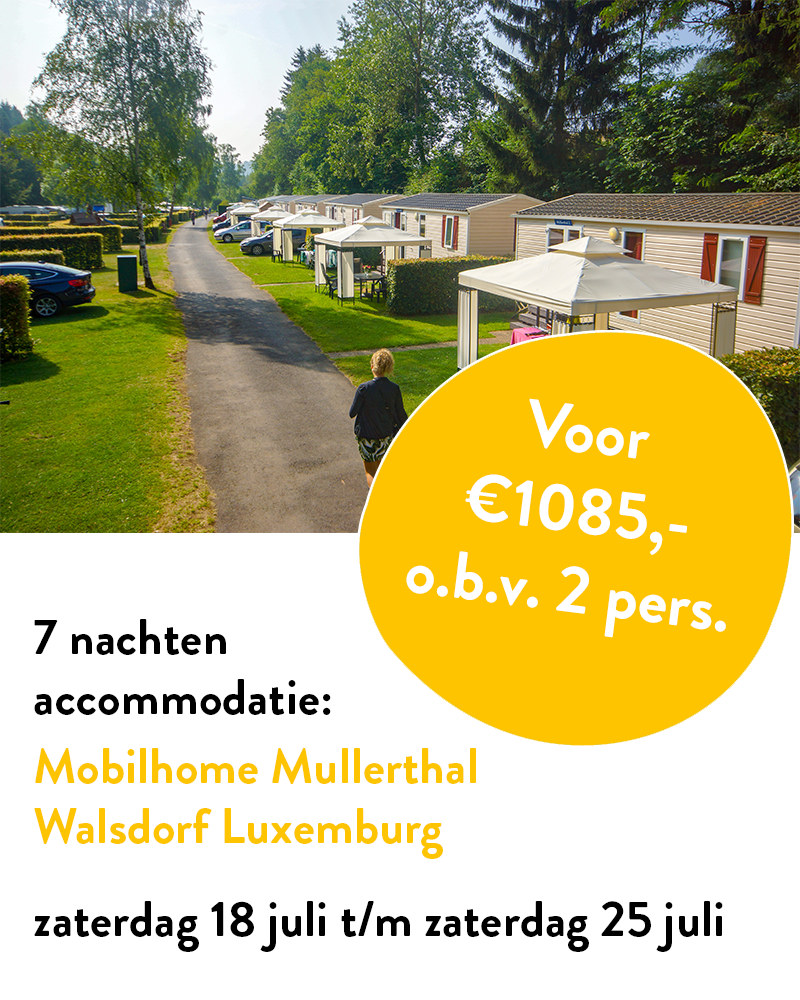 Mobilhome Mullerthal uitgelicht