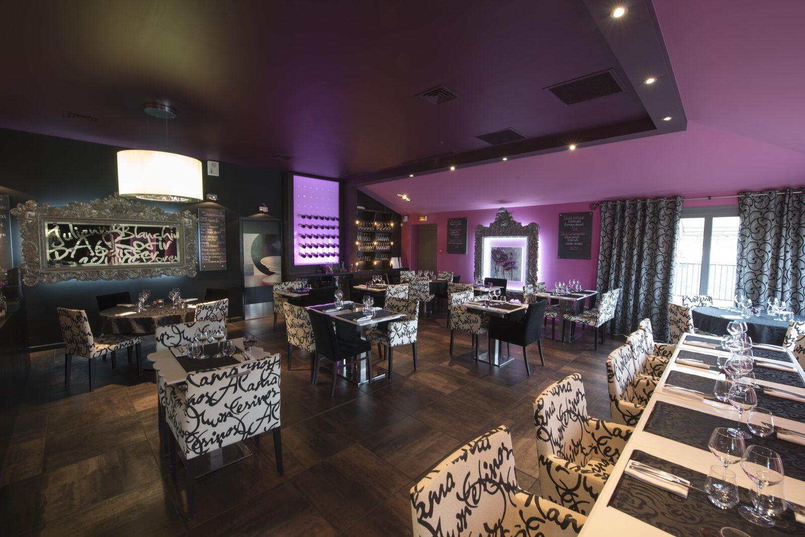 Le restaurant La Ferme de Villeneuve