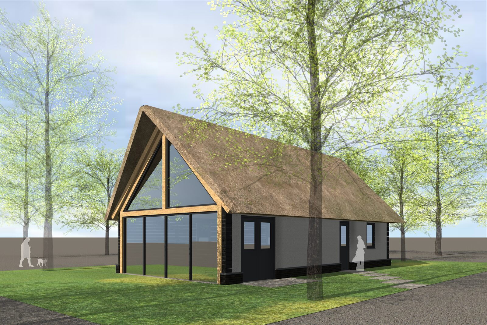 Nieuw: Farm Lodge 6 personen