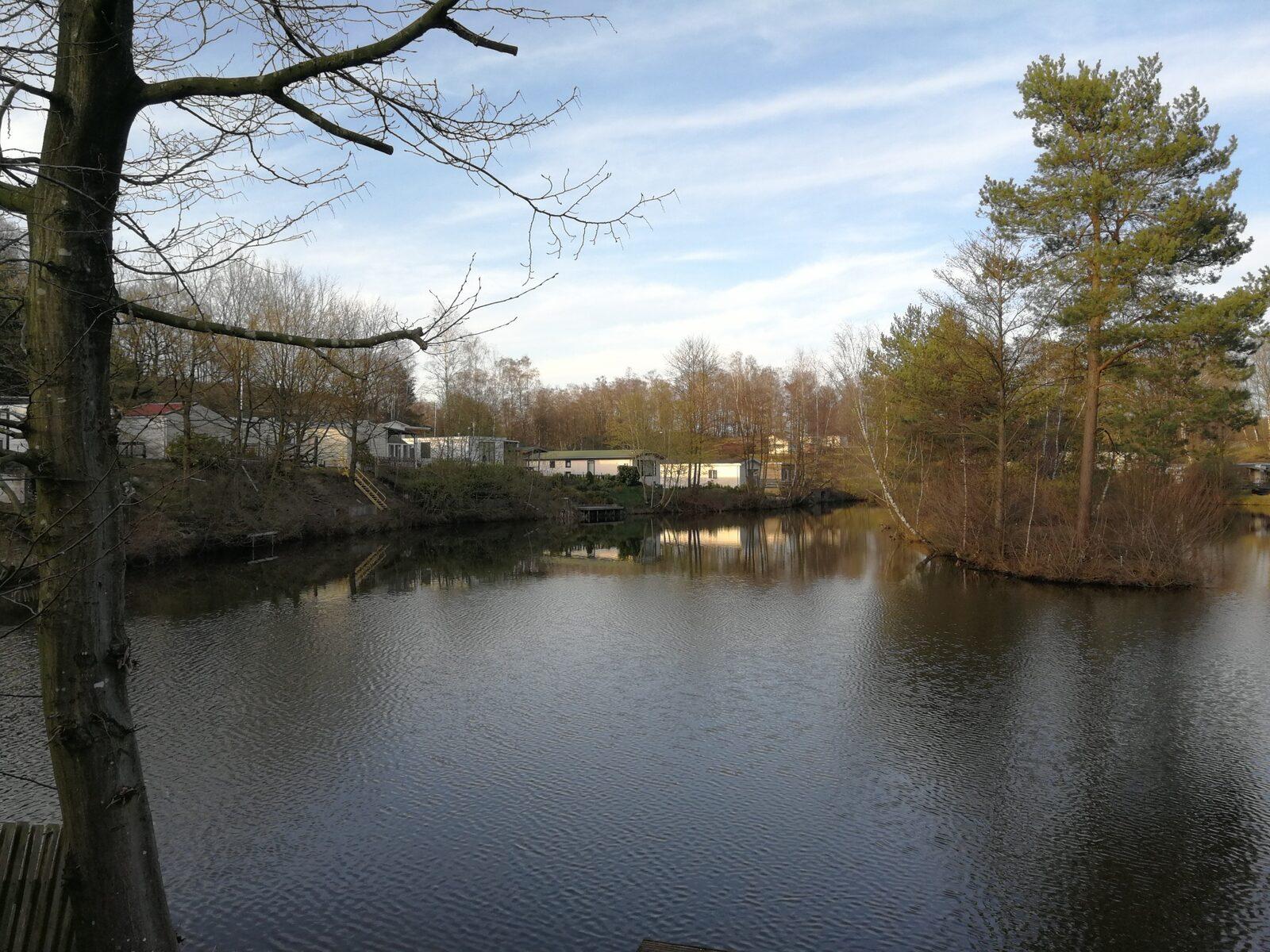 Camping met viswater in Duitsland