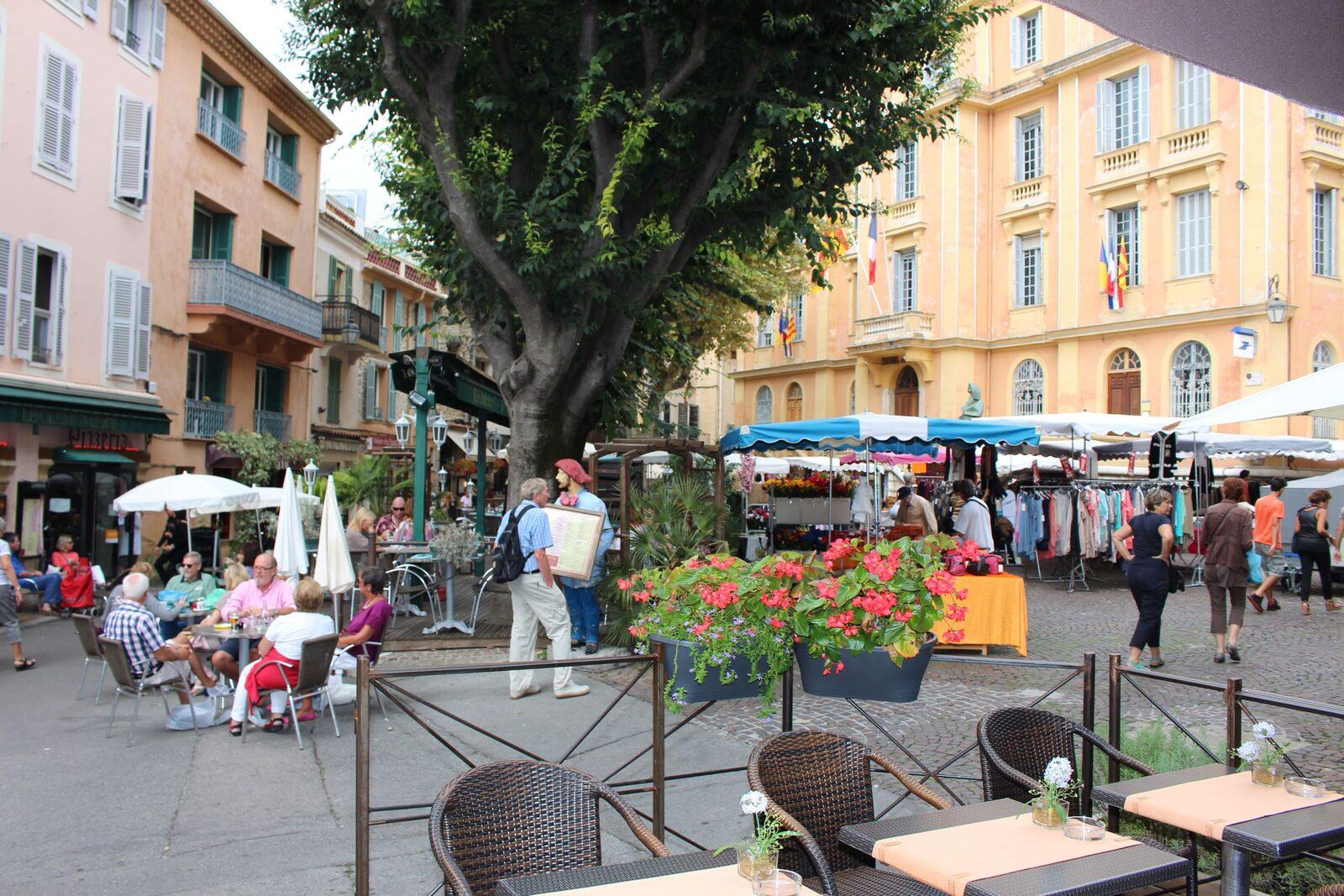 Vieille Ville de Vence sur la Côte d'Azur