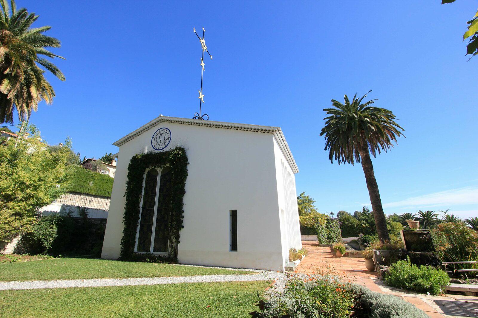 Chapelle Matisse à Vence sur la Côte d'Azur