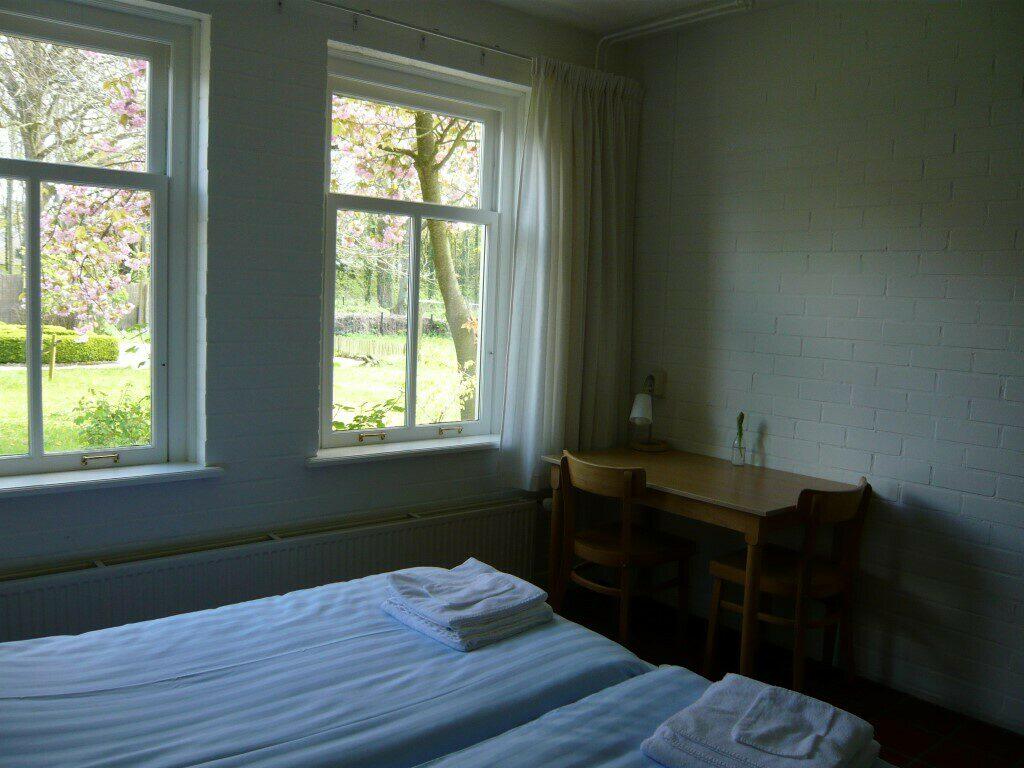 slaapkamer binnentuin