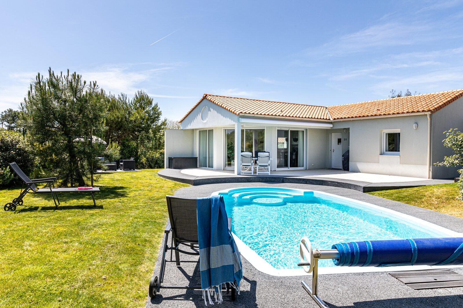 offres évasion - maison individuelle avec piscine privée