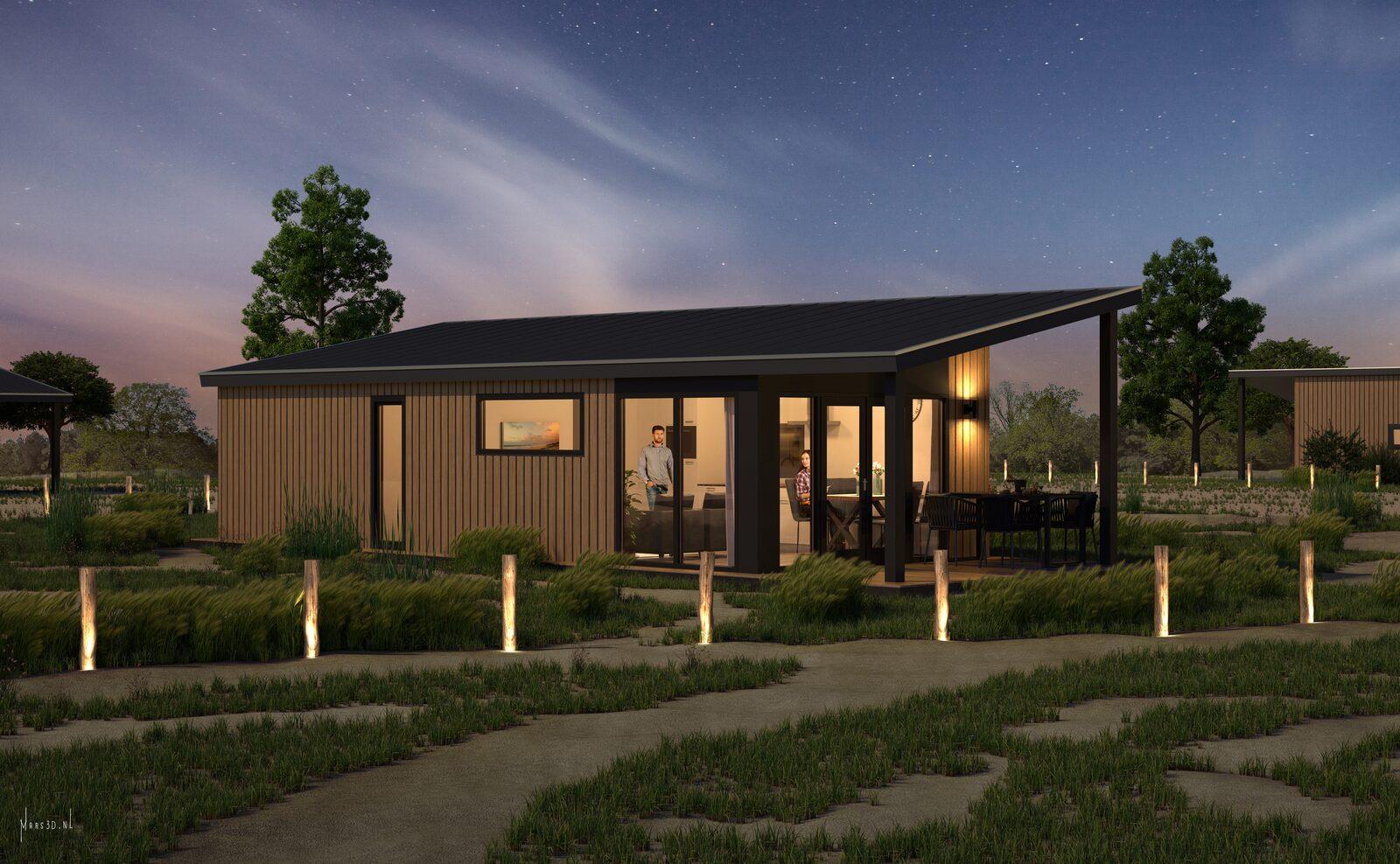 Zand Lodge | 4 personen