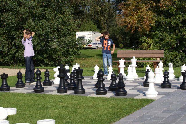 XL dam- en schaakbord