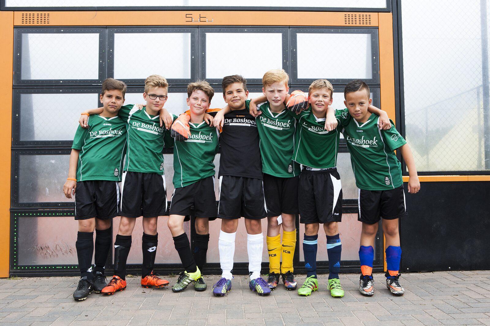 Voetbalschool op vakantie op De Boshoek