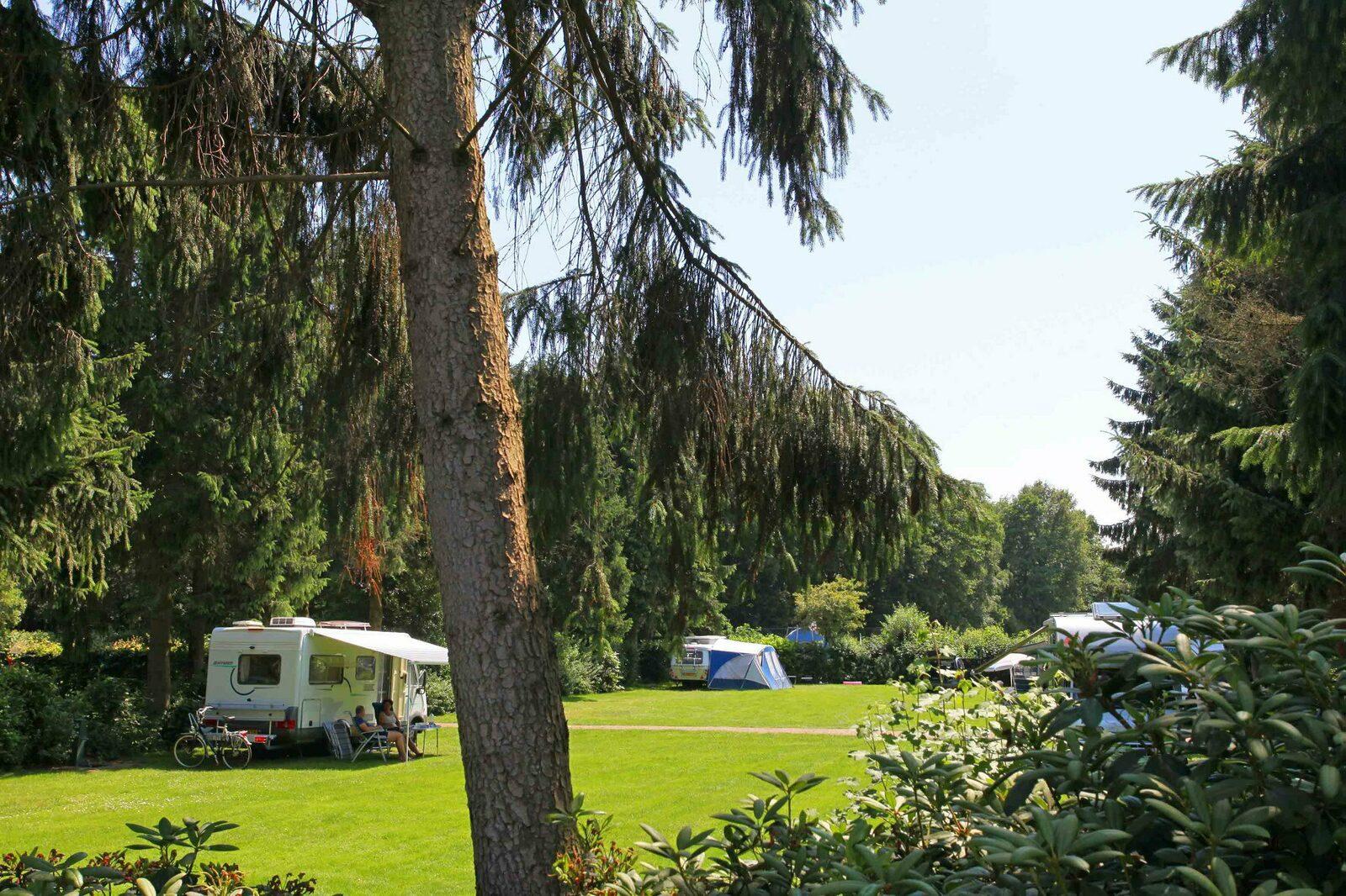 ruime kampeerplaatsen 🏕