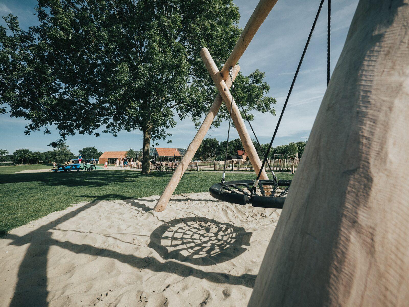 Spelen op Vakantiepark De Klepperstee