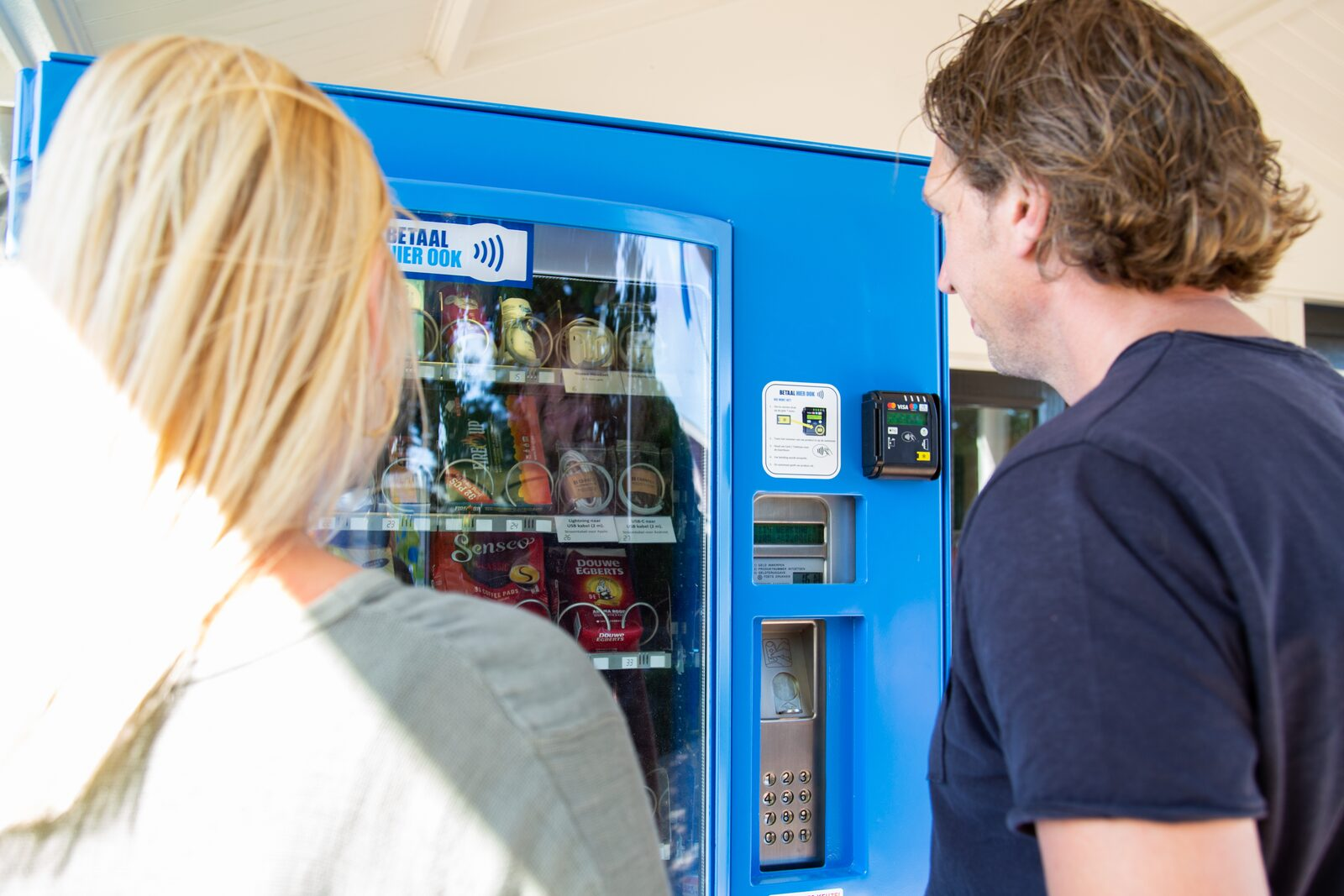 De snel vergeten belangrijke boodschappen nu verkrijgbaar in een 24-shop automaat